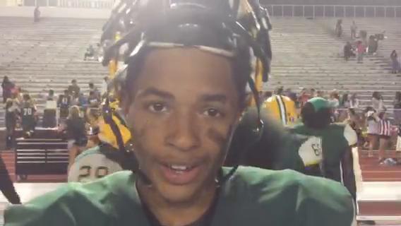 Captain Shreve receiver talks about long TD catch