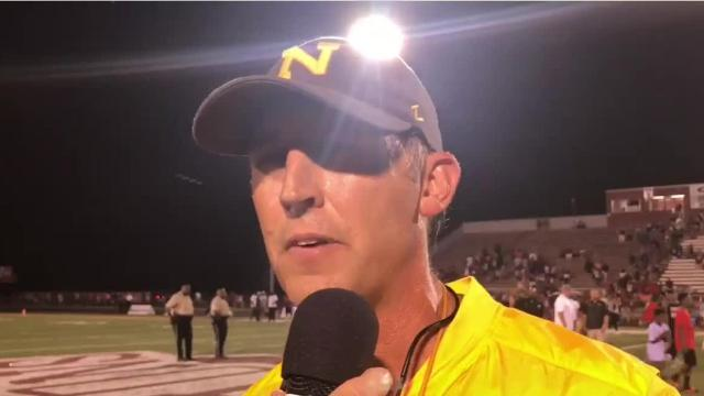 Neville scored 23 unanswered points and held off a Ouachita comeback in a 23-14 win.