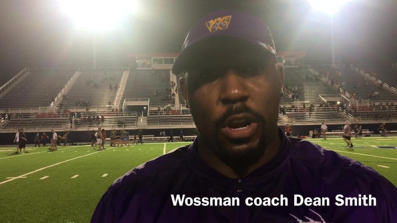 Wossman head football coach Dean Smith explains what he saw out of his offense Friday night versus West Monroe.