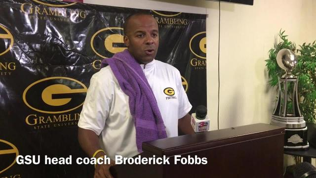 GSU coach Broderick Fobbs discusses his team 'closing the door'