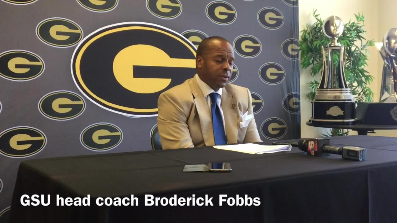 Grambling State head football Broderick Fobbs details what GSU fans can expect out of Quintin Guice after his performance against JSU.