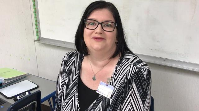 Amy Thompson, the Rapides Parish School System's teacher for the deaf, talks about how her own hearing disorder impacts her work with students who have special needs.