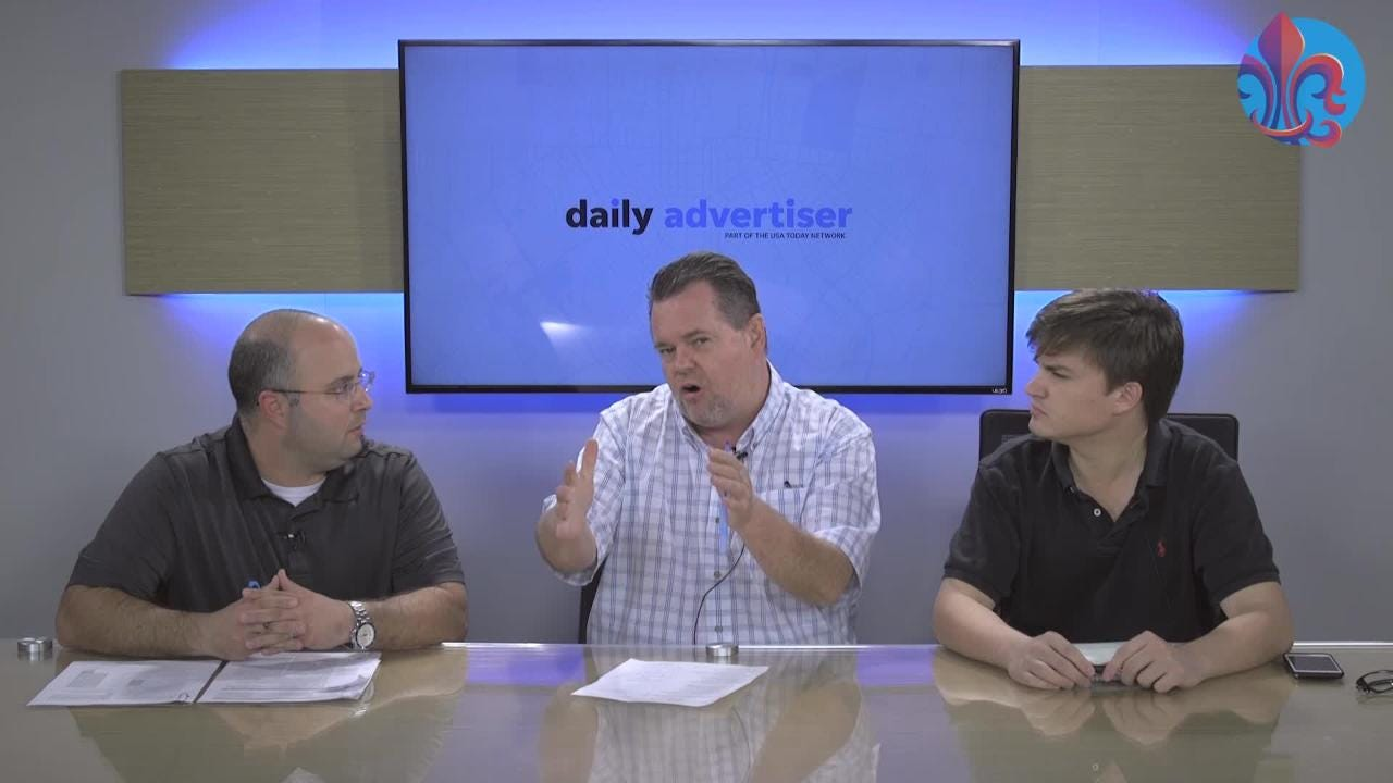 JD Boudreaux, an athletic trainer and physical therapist, talks with Kevin Foote and James Bewers about concussions in prep sports.