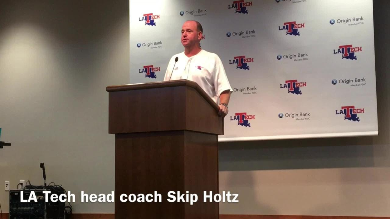 Louisiana Tech head football coach Skip Holtz shares the reasoning behind moving Teddy Veal back to the slot receiver spot and how the move helps the offense.