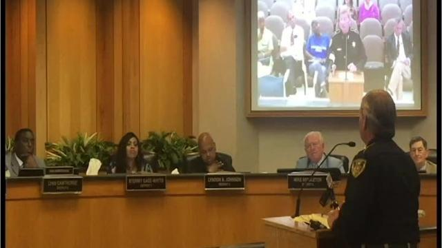 Video: Prator addresses fence at commission meeting