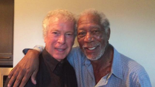 WATCH: James Davison, Morgan Freeman celebrate birthdays