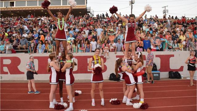 Friday night at Pineville High