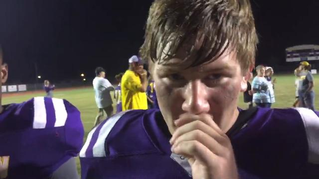 Benton stars of the night talk about homecoming win