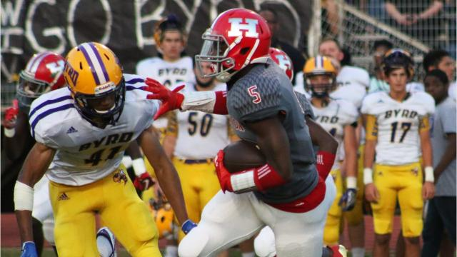 Haughton defeated Byrd for the first time since 1984. Running back Lavonta Gipson scored four touchdowns.