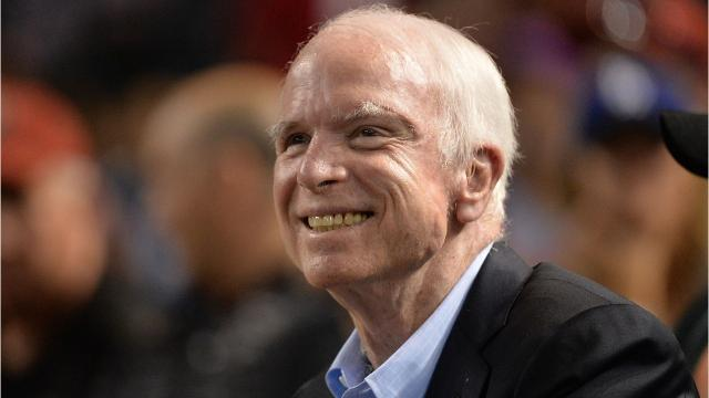 """Senator John McCain said Trump is """"in the business of making money"""" rather than serving his country. McCain suggested that he and the president have difficulty seeing eye to eye"""