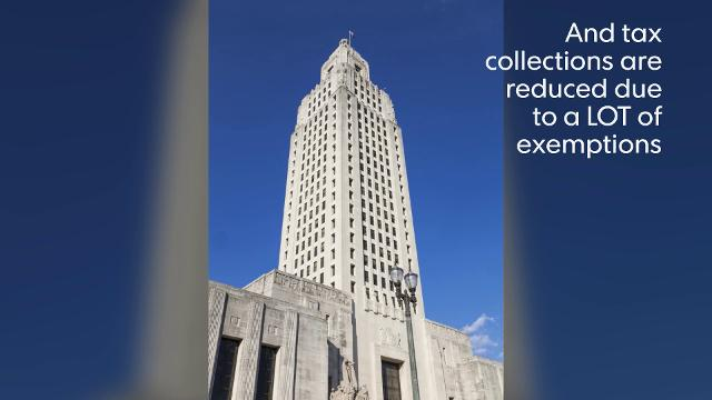 Is Louisiana the most taxed state?