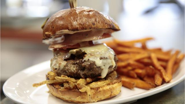Here's a look at some of the tastiest burgers you'll find around Lafayette — whether it's a simple cheeseburger or an over-the-top gourmet burger that you're craving.