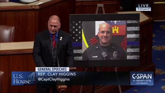 Congressman Higgins Pays Tribute to Corporal Middlebrook