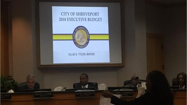 Video: City of Shreveport proposed 2018 budget