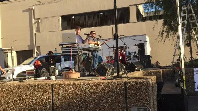 """Local musicians Fred Kalil and Josh Thornhill, of the band Porcelain People, recently won a jingle contest hosted by the Downtown Monroe Alliance. They won with their 30-second jingle """"Downtown,"""" which pays homage to the community's arts, architecture, downtown area and the late Thomas Bradley Duncan, a local musician known as Tito."""