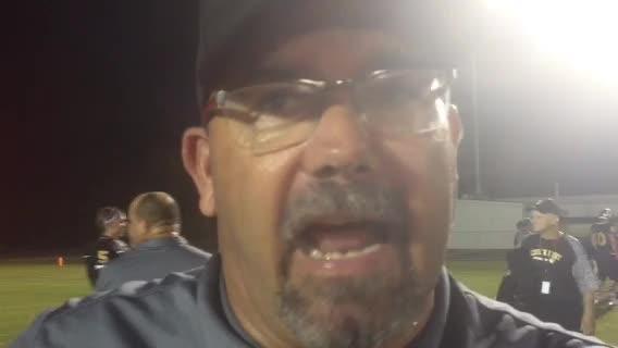 Church Point coach on win over Iota