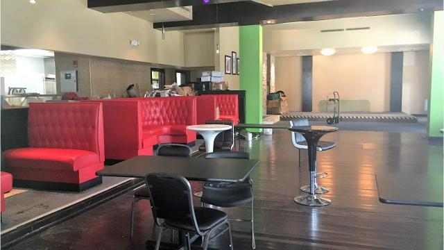 Proud Mary 360 Grill before renovations