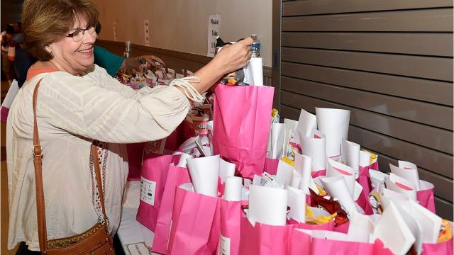 Annual pink bag luncheon to benefit breast cancer awareness.