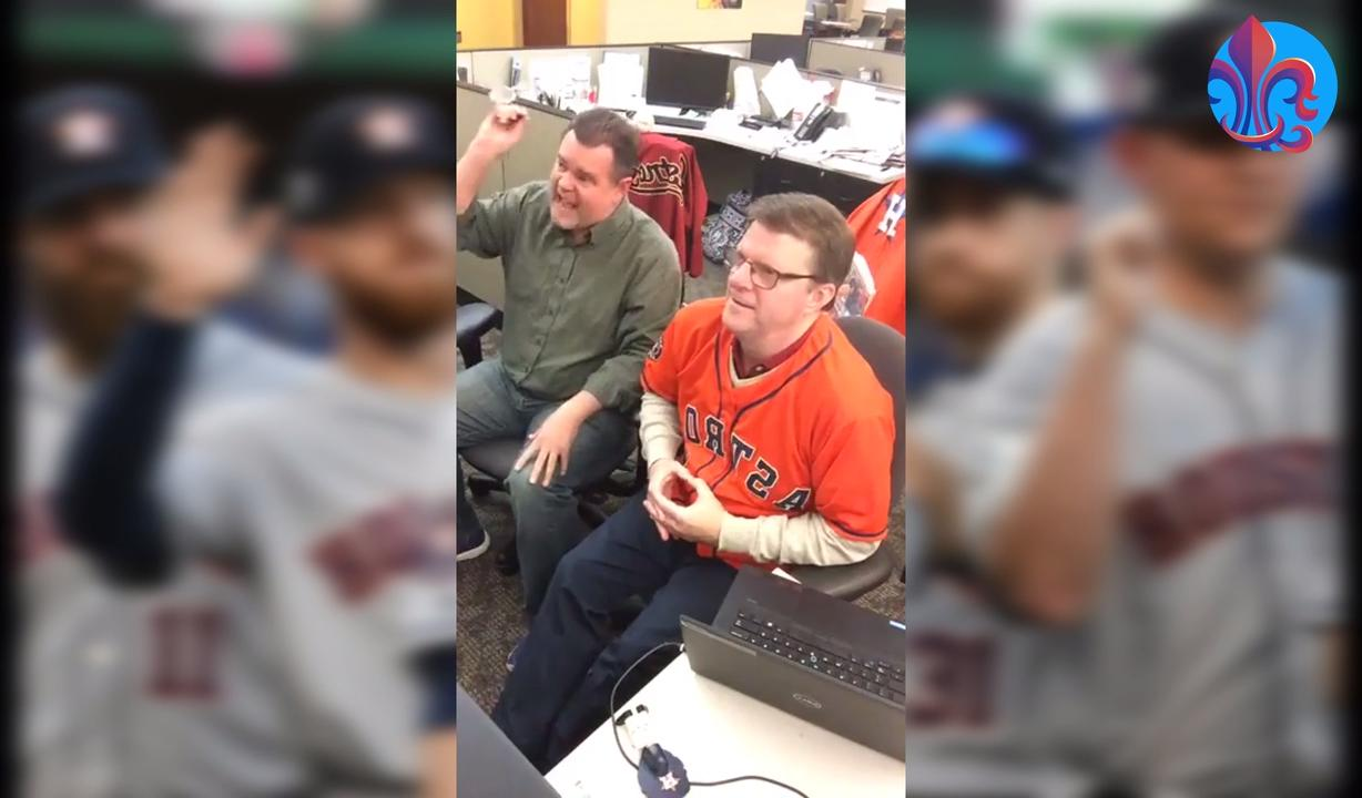 Kevin Foote's best reactions to Game 1 of the World Series