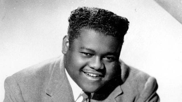 "Antoine ""Fats"" Domino, a pioneer of rock n' roll, passed away Tuesday at the age of 89. He died of natural causes."