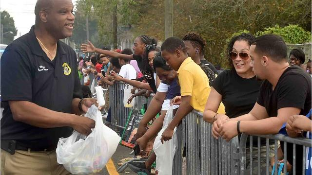 Creole Festival Parade held Sunday in Opelousas.