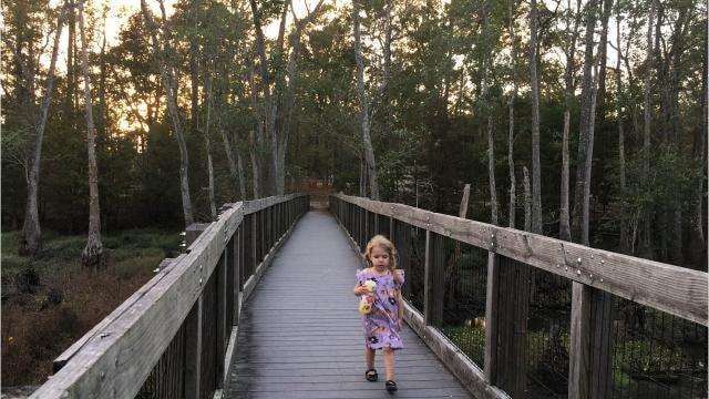 Take a trip to Sam Houston Jones State Park
