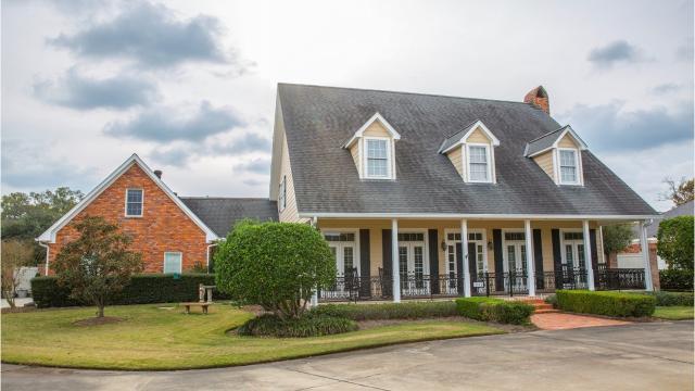 Near the Bayou DeSiard Golf Course, this home at 3374 Deborah Drive in Monroe has 5 bedrooms, 4.5 bathrooms and 2 dens.