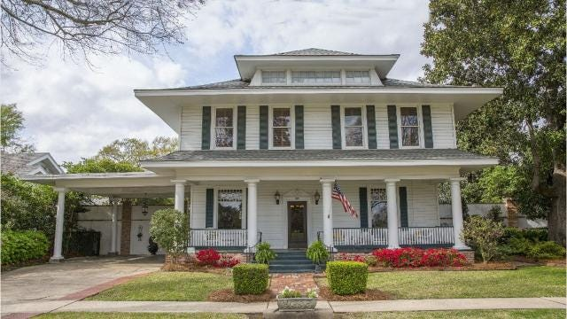 Check out this New Orleans-style home at 305 Park Avenue in Monroe.