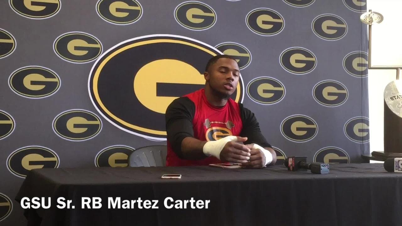 GSU's Carter explains the offense's 'storm the land, burn the ships' mindset