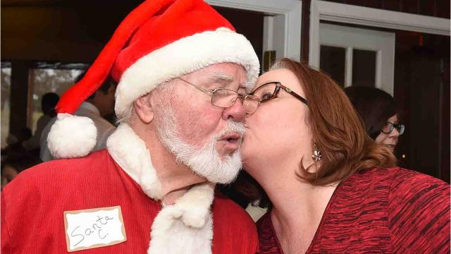 Annual Breakfast With Santa event to benefit the Opelousas Cerebral Palsy Clinic.