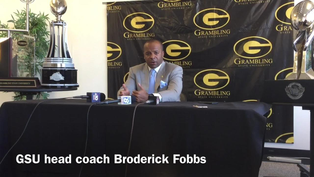 Grambling State head football coach Broderick Fobbs breaks down why QB DeVante Kincade has been productive running the ball inside the red zone.