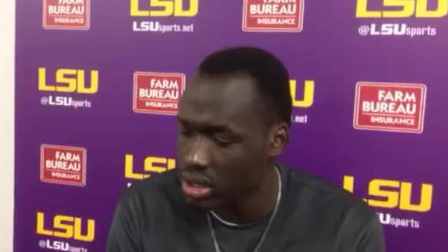 LSU's Duop Reath can score, but must improve his defense