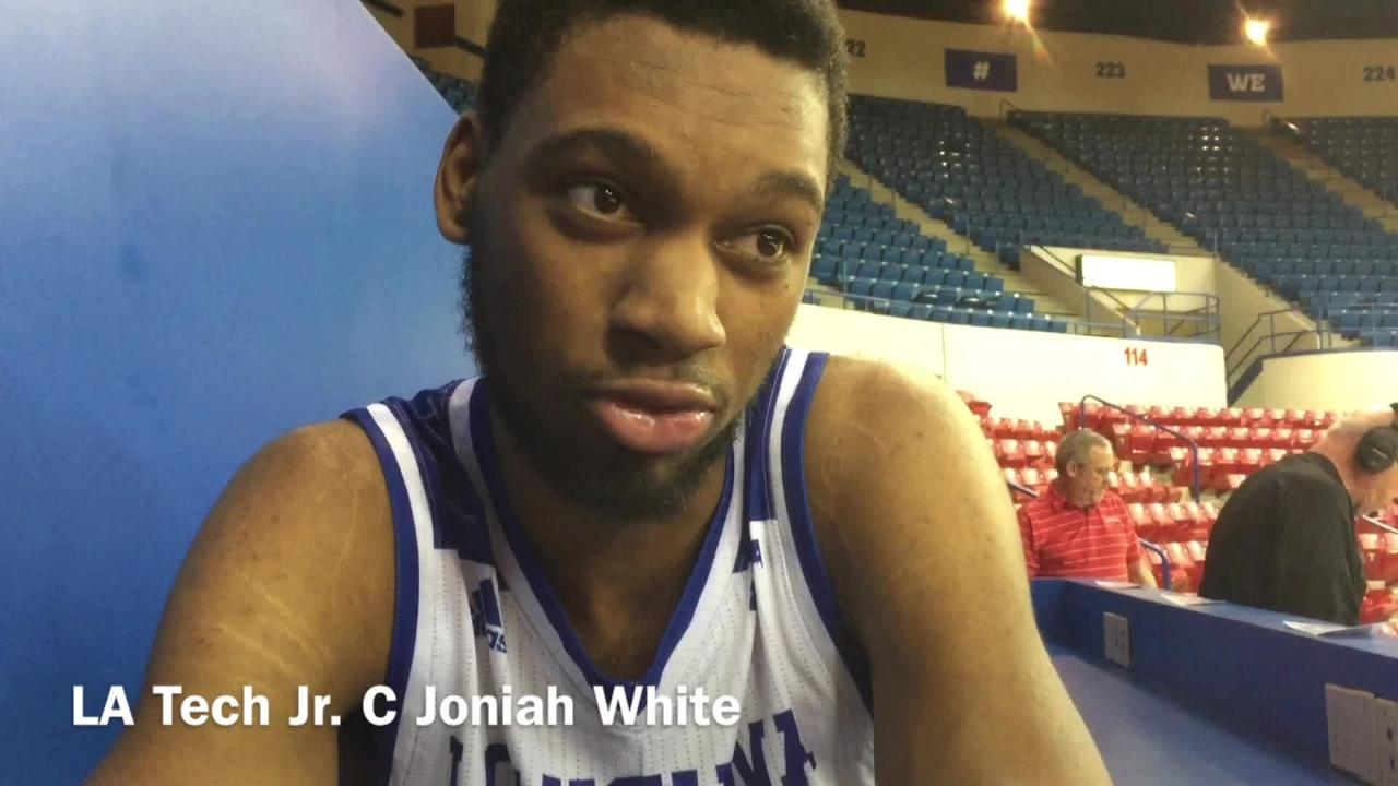 Louisiana Tech junior center Joniah White shares his thoughts on why Tech has lost two of last three home games.