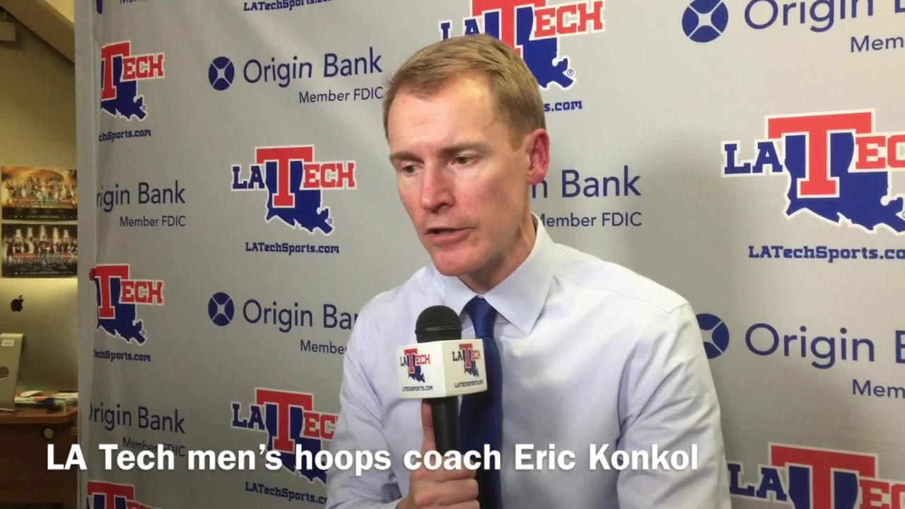 Tech men's coach Konkol breaks down his team's lack of run v. ULL