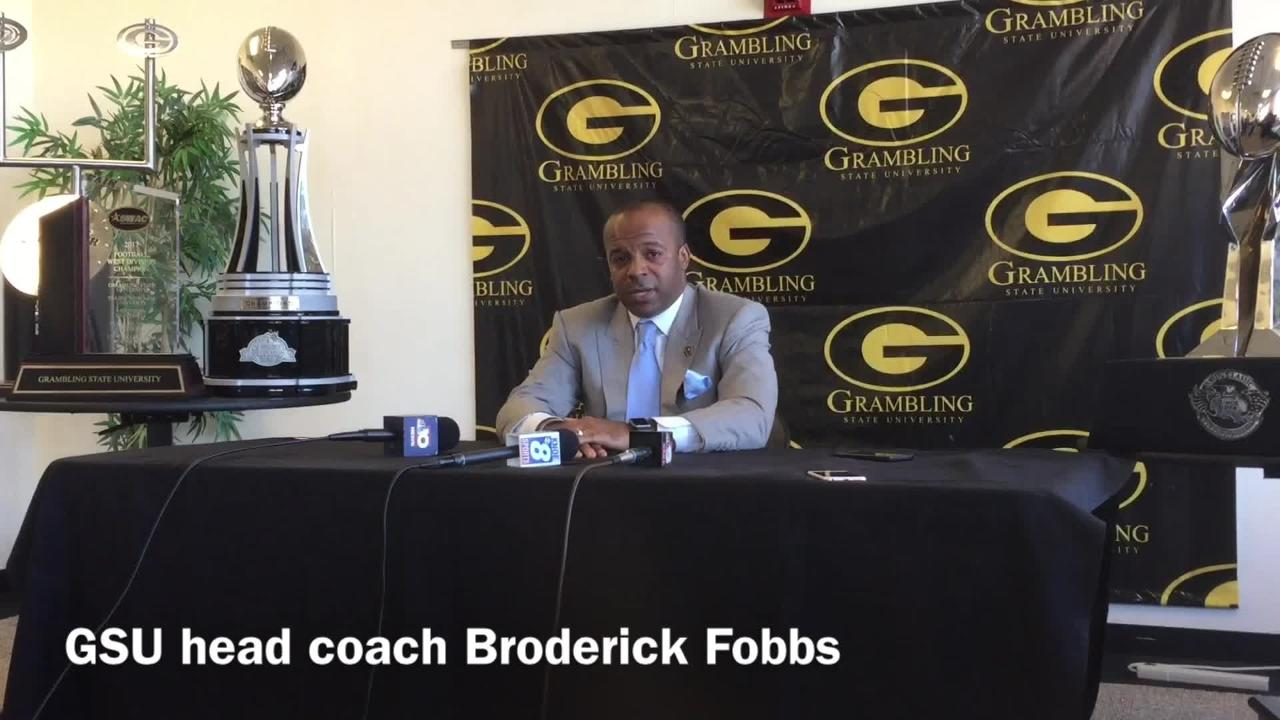 Fobbs shares what he wants to accomplish at Grambling State