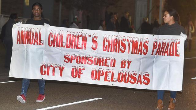 Children's Christmas Parade Thursday night in Opelousas