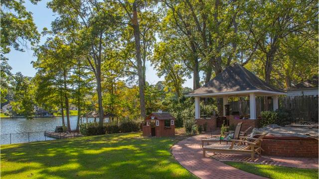 This home at 3202 Lake DeSiard Drive in the River Oaks subdivision features 5 bedrooms, 3.5 baths and breathtaking views of the bayou.