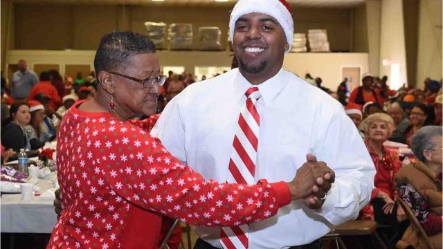 St. Landry Parish Senior Citizens Christmas party held Wednesday in Opelousas.