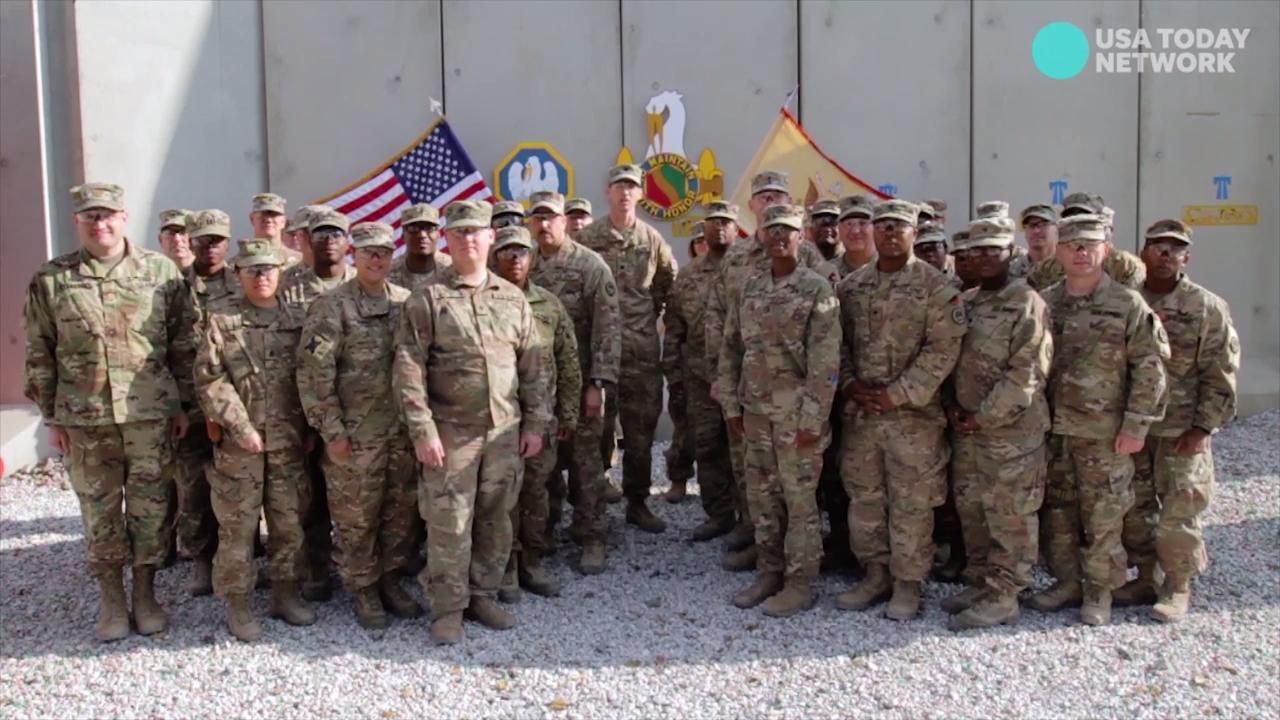 Military Members Send Holiday Greetings Home To Louisiana