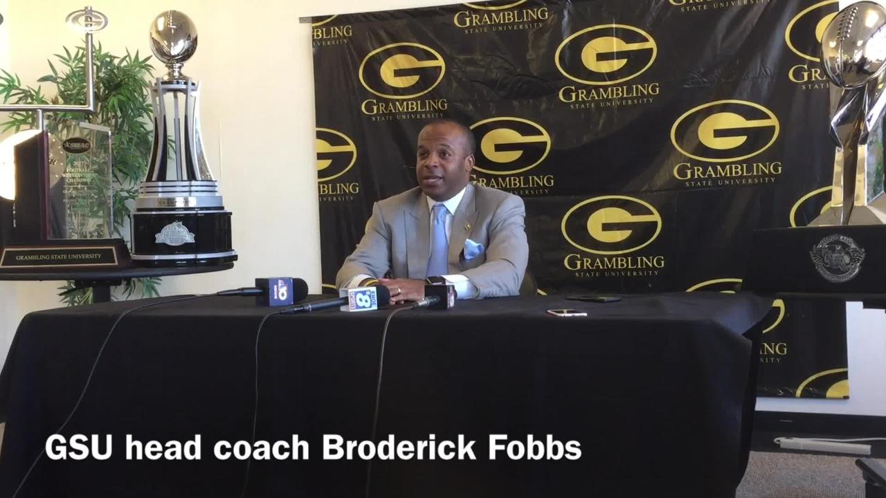 Grambling State head football coach Broderick Fobbs explains why assistant coaches leaving for better jobs is a good reflection on his program.