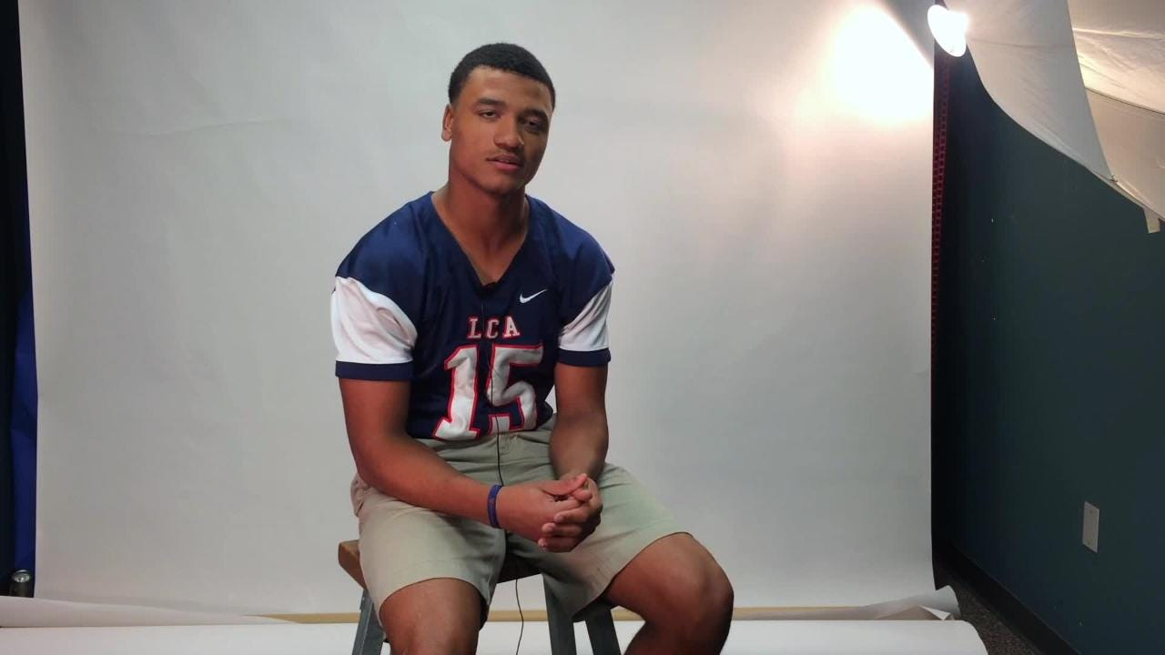 Sage Ryan, return specialist for LCA, has been chosen as the All-Acadiana Football Special Teams MVP.