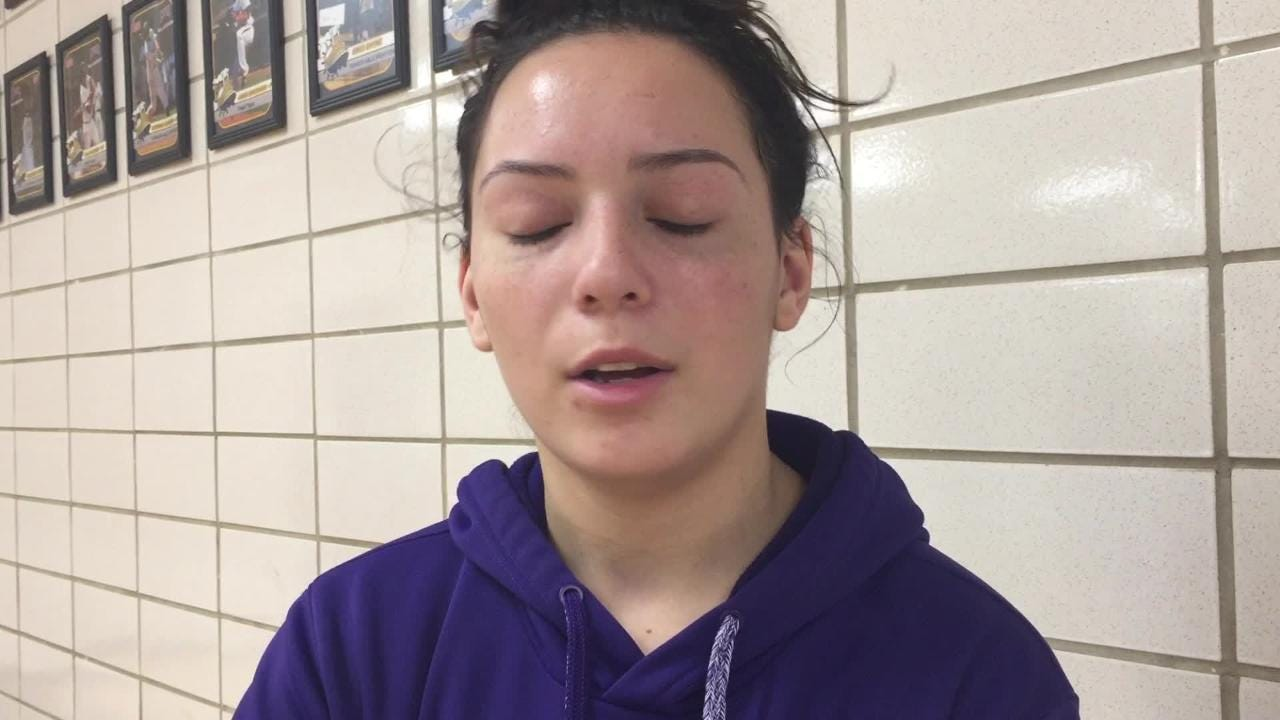 LSUS guard Leah Silva talks about being undefeated