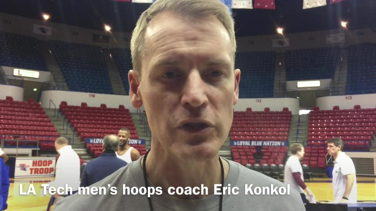 Louisiana Tech men's basketball coach Eric Konkol details what has caused his team to cool off over the last 10 games after its hot start.