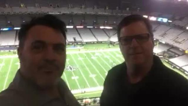 """Roy Lang and Glenn Guilbeau discuss """"Dome Field Advantage."""""""