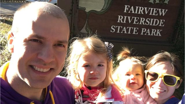 Travel and tourism reporter Leigh Guidry and her family continue their mission to see all 21 Louisiana state parks with a very cold visit to Fairview-Riverside State Park on Sunday. You can follow along on Instagram at @thedailyadvertiser or at theadvertiser.com.