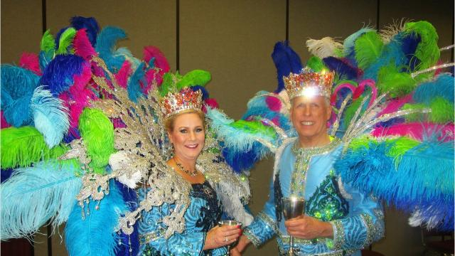 The Krewe of Carnivale en Rio officially kicked off Mardi Gras with the first ball of the season on Jan. 6 at the Cajundome Convention Center.