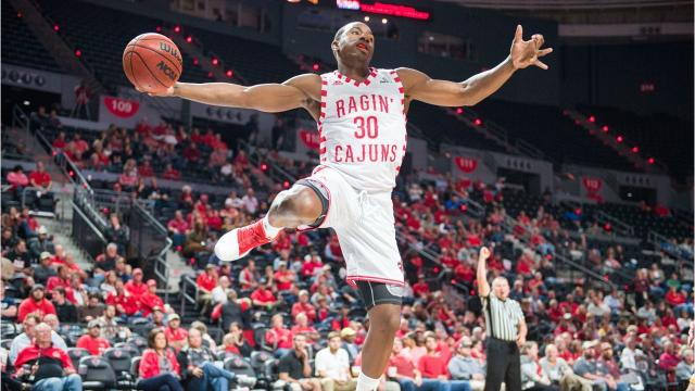 Senior swingman Johnathan Stove has been a key piece for the Ragin' Cajuns in 2017-18.