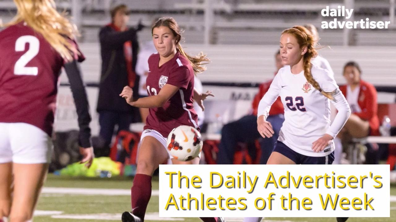 Get to know the Athletes of the Week! Wochit