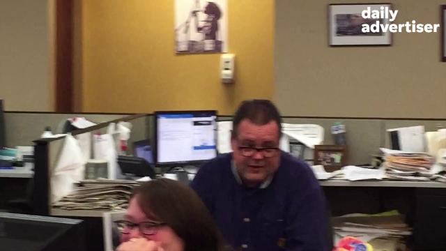You saw Daily Advertiser Sports Editor Kevin Foote jump for joy after his beloved Astros won their first World Series. What's he gonna do if the Saints beat the Vikings?