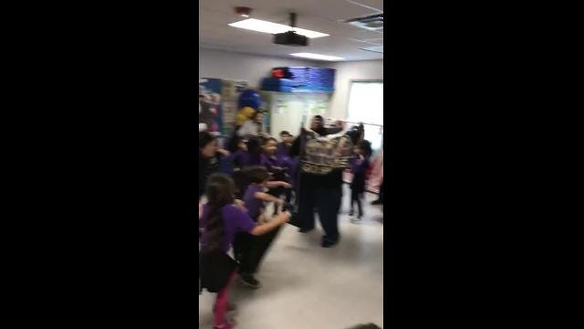 Kids doing 'The Sean Payton' will make your day